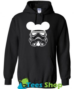 Storm Trooper Mickey Mouse Hoodie SN