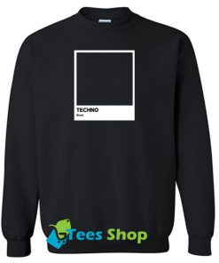 Techno Black sweatshirt SN