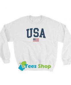 USA Flag Sweatshirt SN