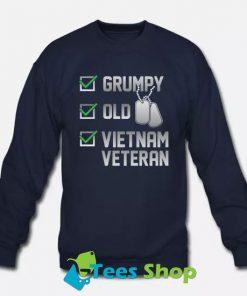 Vietnam Veteran Sweatshirt SN