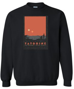 Visit Tatooine Lightweight Sweatshirt SN