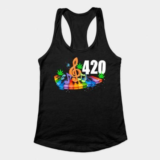 420 weed tank top DAP