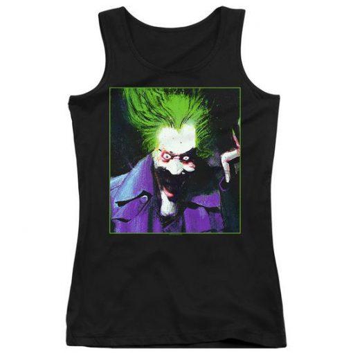 Arkham Asylum Juniors Joker Tank Top DAP
