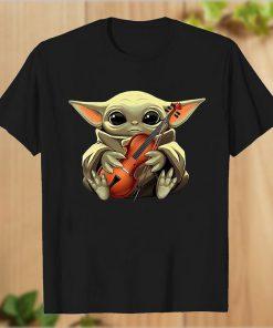 Baby Yoda Best Violinist T-Shirt PU27